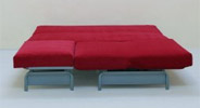 souprava futon rozložená